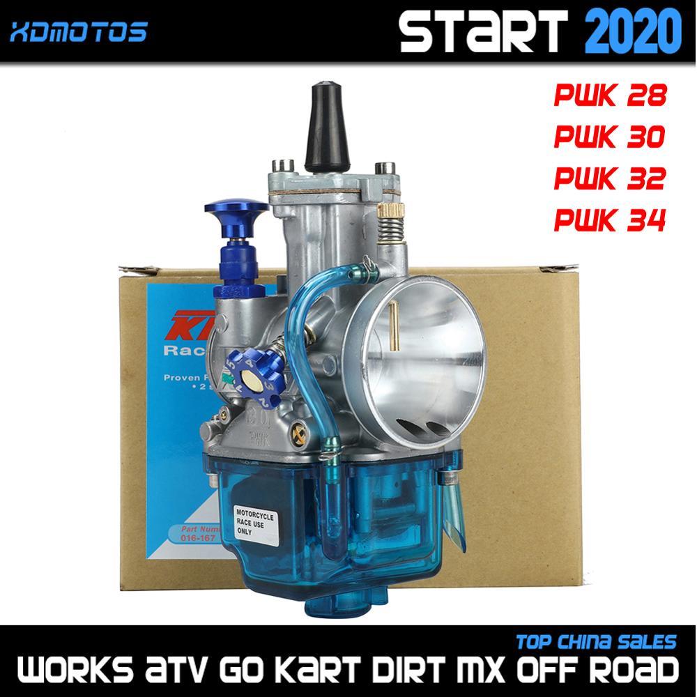 Universal PWK 28 30 32 34 mm Motorcycle Carburetor For Suzuki Yamaha Honda KTM ATV Quad scooter Dirt bike For Keihin Carb